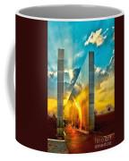 Empty Skies Sunset Coffee Mug by Nick Zelinsky