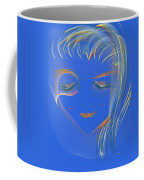 En Blue Coffee Mug