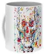 Enamels Skull Painting Coffee Mug