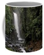 Encantada Waterfall Costa Rica Coffee Mug