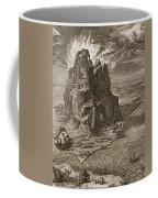 Enceladus Buried Underneath Mount Etna Coffee Mug