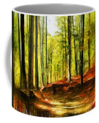 Enchanted Forest - Drawing  Coffee Mug
