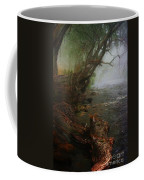 Enchanted River In The Mist Coffee Mug