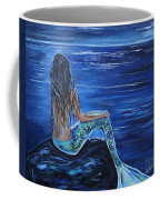 Enchanting Mermaid Coffee Mug by Leslie Allen