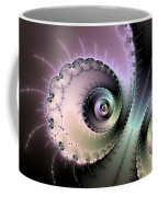 Encounter - Digital Fractal Artwork Coffee Mug