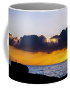 End Of Day On The Pacific Coffee Mug