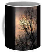 End Of The Day  Red Tailed Hawk Coffee Mug