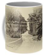 End Of The Road Merged Image Coffee Mug