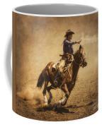End Of Trail Mounted Shooting Coffee Mug
