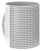 Endless Butterflies On White Coffee Mug