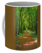 Endless Trail Into The Forest Coffee Mug