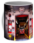 Engine Company 65 Firehouse Midtown Manhattan Coffee Mug by Amy Cicconi