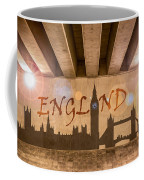 England Graffiti Landmarks Coffee Mug