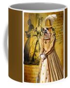 English Bulldog Art Canvas Print  Coffee Mug