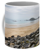 English Channel Beach Coffee Mug