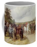 English Horse Fair On Southborough Common Coffee Mug by John Frederick Herring Snr