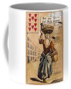 English Playing Card, C1754 Coffee Mug