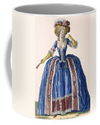 English Style Hooped Dress In Electric Coffee Mug