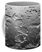 Engraved Snowman Playing The Piano Coffee Mug