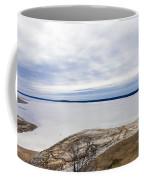 Enid Lake - Winter Landscape Coffee Mug