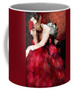 Enigma Of A Geisha - Abstract Realism Coffee Mug