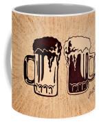 Enjoying Beer Coffee Mug