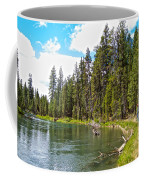Enjoying Des Chutes River In Des Chutes Nf-or Coffee Mug