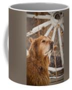 Enjoying The Moment - Golden Retriever - Casper Wyoming Coffee Mug