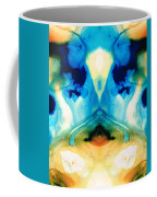 Enlightenment - Abstract Art By Sharon Cummings Coffee Mug