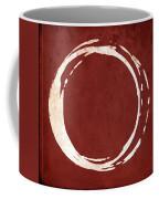 Enso No. 107 Red Coffee Mug by Julie Niemela