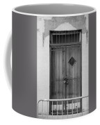Enter In Black And White Coffee Mug