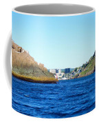 Entering The Narrows Near Fort Amherst Rock By Barbara Griffin Coffee Mug