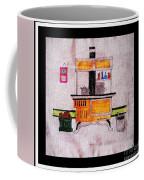 Enterprise Woodstove - Yellow Coffee Mug by Barbara Griffin