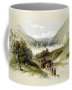 Entrance And Exit To Nablus Shechem Coffee Mug