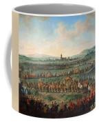 Entrance Of The Emperor Franz I Stephan And His Son Joseph II Into Frankfurt Coffee Mug
