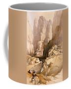 Entrance To Petra Coffee Mug