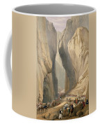 Entrance To The Bolan Pass From Dadur Coffee Mug