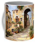 Entrata Al Borgo Coffee Mug by Guido Borelli