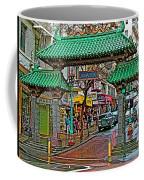 Entry Gate To Chinatown In San Francisco-california Coffee Mug