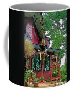 Entry Of A Thai Teak Home In Bangkok-thailand Coffee Mug