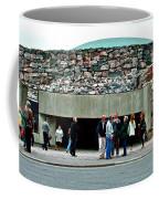Entry To Church In The Rock In Helsinki-finland Coffee Mug
