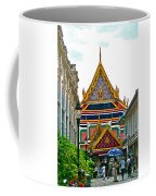 Entryway To Middle Court Of Grand Palace Of Thailand In Bangkok Coffee Mug
