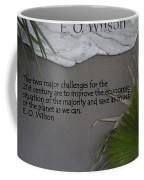 E.o. Wilson Quote Coffee Mug