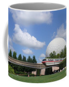 Epcot And The Monorail Ride Coffee Mug