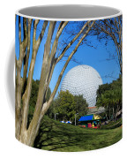Epcot Globe Walt Disney World Coffee Mug
