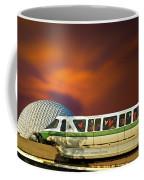 Epcot Riding The Rail Coffee Mug