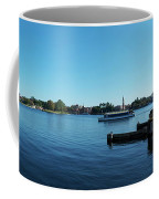 Epcot World Showcase Lagoon Panorama 01 Walt Disney World Coffee Mug