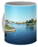 Epcot World Showcase Lagoon Panorama 05 Walt Disney World Coffee Mug