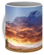 Epic Colorado Country Sunset Landscape Coffee Mug