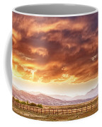 Epic Colorado Country Sunset Landscape Panorama Coffee Mug by James BO  Insogna